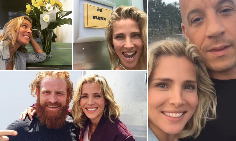 Elsa Pataky, una 'working mum' que regresa a la acción