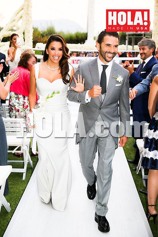 EXCLUSIVA MUNDIAL: Eva Longoria elige HOLA! USA para publicar las fotos oficiales de su boda con Pepe Bastón