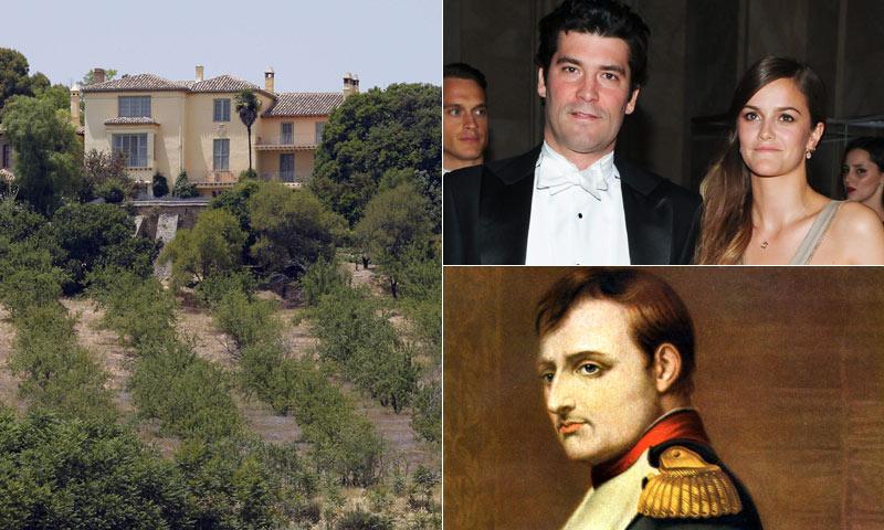 El escenario de boda de Alejandro Santo Domingo y Charlotte Wellesley… ¿Qué tiene que ver Napoleón Bonaparte en esto?