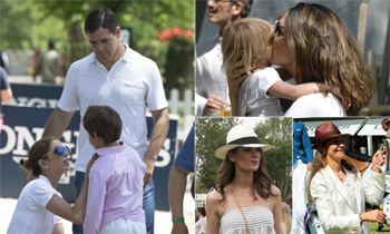 La infanta Elena, Eugenia Osborne, Carmen Martínez-Bordíu, Mar Saura... ¡fin de semana en la hípica!