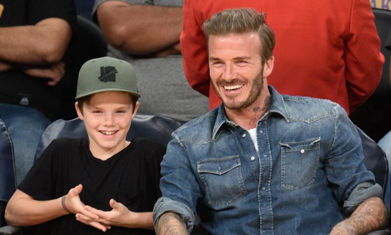 David Beckham, sorprendido por el talento de su hijo Cruz: 'Tiene una gran voz'