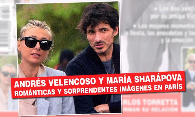 Exclusiva en ¡HOLA! Andrés Velencoso y María Sharapova: cariñosos gestos que hablan por sí solos