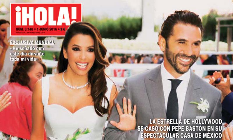 Exclusiva mundial en ¡HOLA!: La fabulosa boda de Eva Longoria