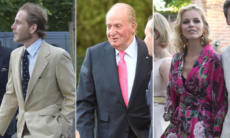 El rey Juan Carlos, Andrea Casiraghi, Eva Herzigova... Íllora calienta motores para la gran boda de Alejandro Santo Domingo y Charlotte Wellesley