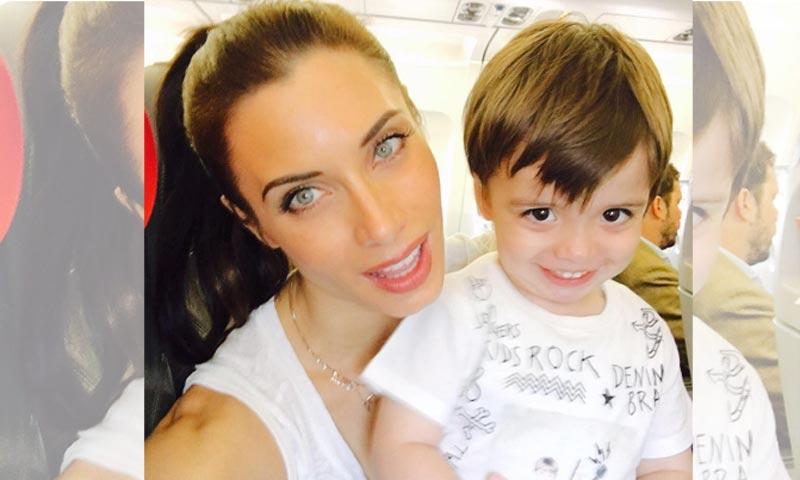 Pilar Rubio y su hijo, los mayores fans de Sergio Ramos en un día decisivo