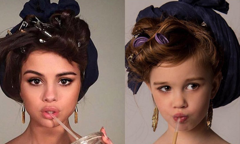 ¡Ha nacido una estrella! 'Mini Selena' te enamorará