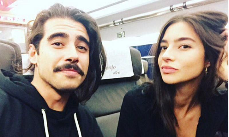 Jaime Soto aplaude al hermano de su novia, Rocío Crusset, un artista en ciernes: '¡Ole mi cuñaíto!'