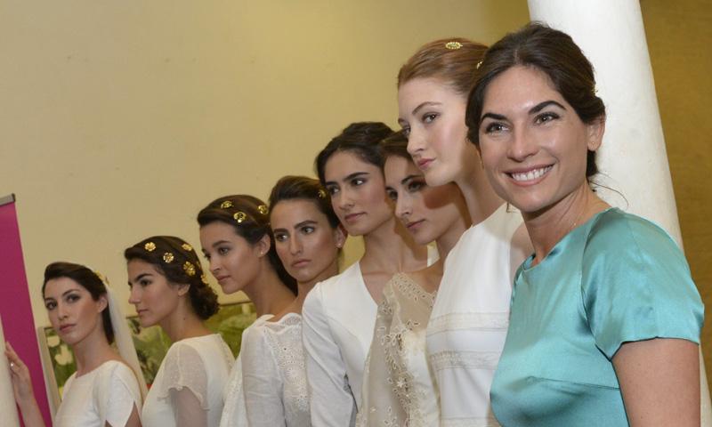 ¿Diseñará Lourdes Montes el vestido de novia de Irene Rosales?