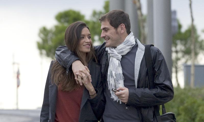 Sara Carbonero, acompañada de Iker, ha ingresado para dar a luz