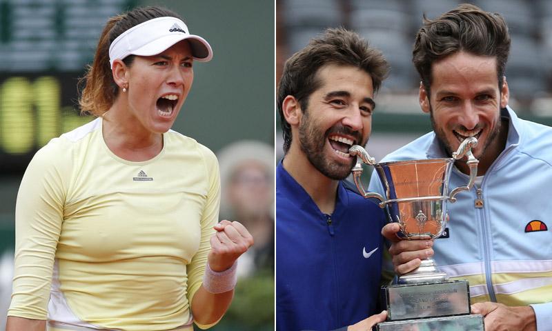 El doble triunfo de España en el Roland Garros