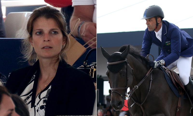 Athina Onassis y Doda Miranda coinciden por primera vez en el torneo que representaba su amor