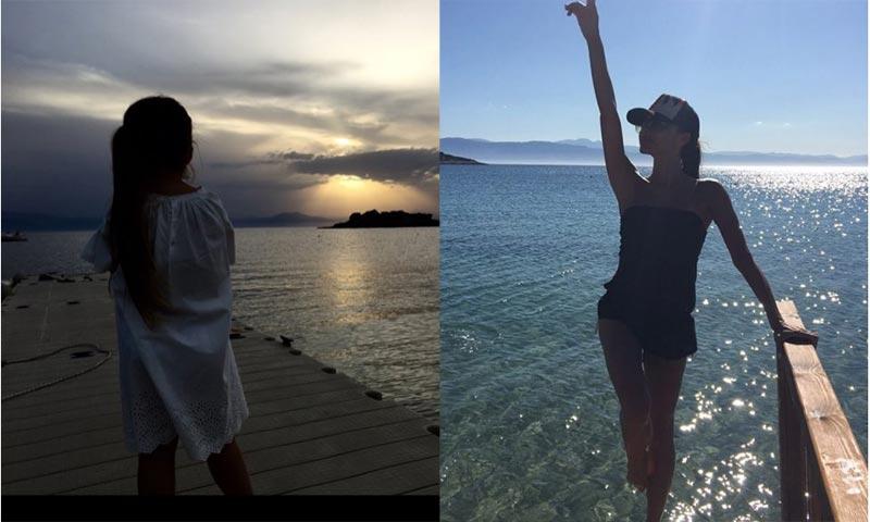 David y Victoria Beckham, el álbum de fotos de sus idílicas vacaciones en familia