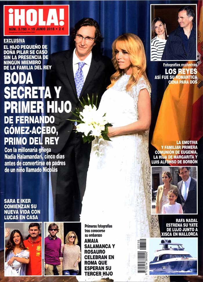 Esta semana, la revista ¡HOLA! viene cargada de noticias y exclusivas