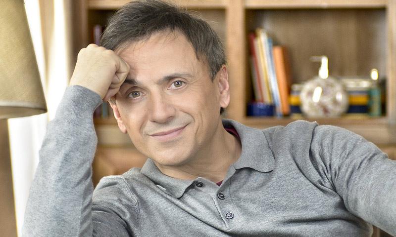 José Mota sobre su 'papel' como padre de familia: 'Es complicado pero mi mujer está siempre ahí'
