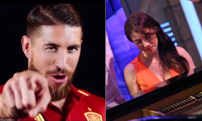 Sergio Ramos canta y Pilar Rubio también ¿quién lo hace mejor?