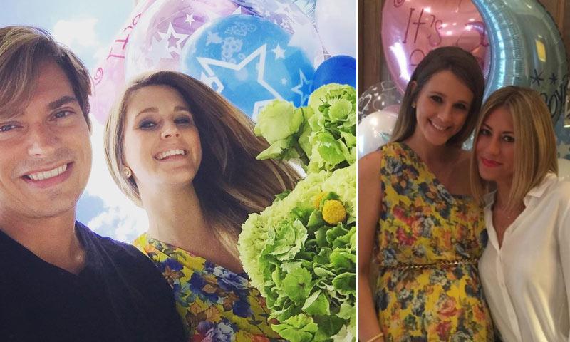 'Baby shower' y aniversario, doble celebración para Astrid Klisans y Carlos Baute