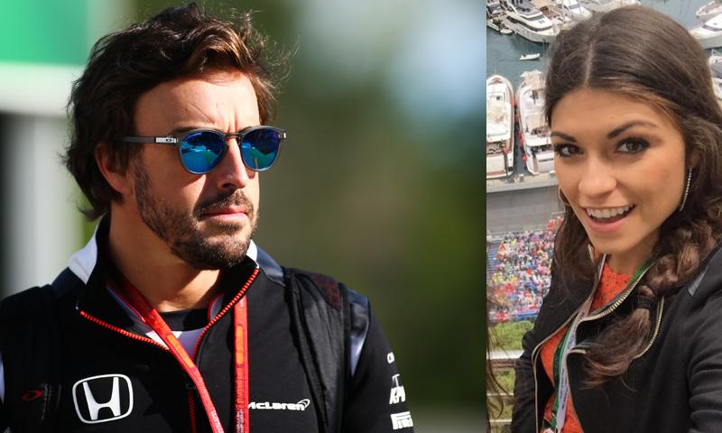 Fernando Alonso, ¿con la ex de Valentino Rossi?