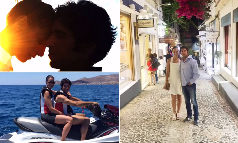 Eva González y Cayetano Rivera abren el álbum de sus románticas vacaciones en el paraíso