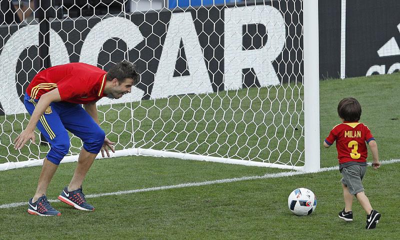 Milan Piqué, 'fichaje' inesperado de la selección española en la Eurocopa