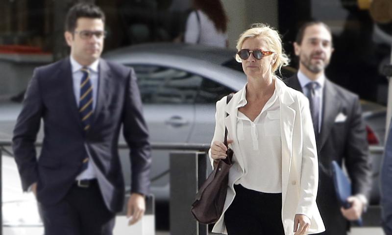 Ana Duato, 'tranquila' tras comparecer en la Audiencia por un presunto fraude fiscal