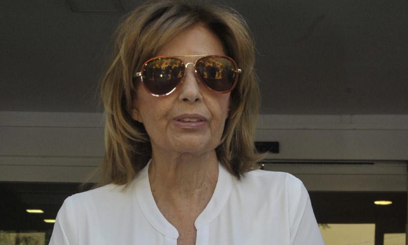 Exclusiva: María Teresa Campos nos cuenta cómo se recupera de la operación
