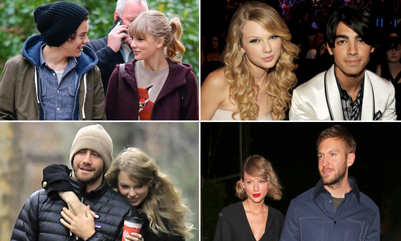 ¡Duda! ¿Por qué Taylor Swift siempre sale con los chicos que están de moda?