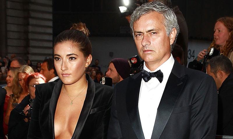 Un 'suegro' llamado Mourinho... ¡El novio de su hija ya pisa el estadio!