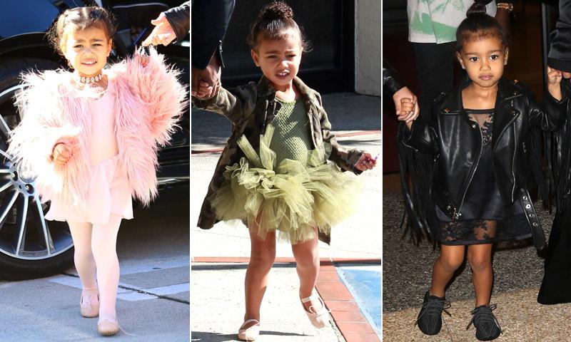 El exclusivo armario 'fashion' de la hija de Kim Kardashian
