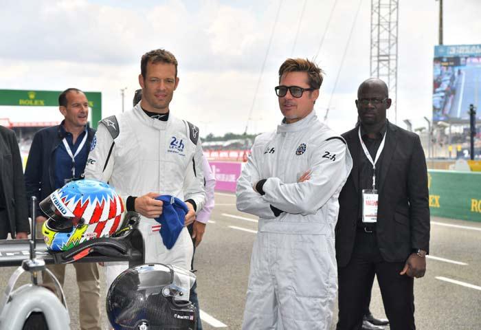 Fotogalería: Brad Pitt y Enrique Iglesias, ¡locos por la velocidad!