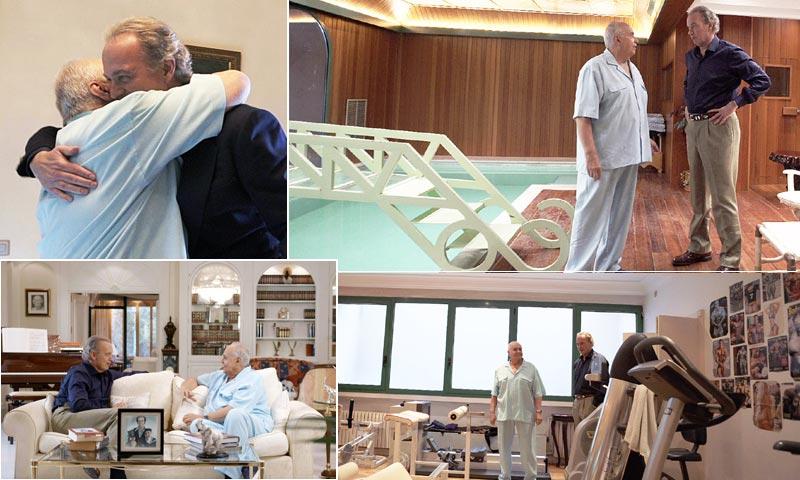 José Luis Moreno escenifica en su mansión el momento del atraco que casi le cuesta la vida