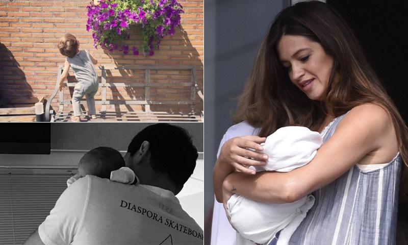 Los arrebatos de Martín, la emoción de Sara Carbonero... así han sido las primeras semanas con Lucas en casa