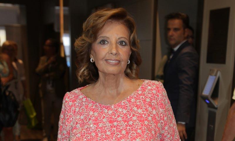 Así ha sido el regreso de María Teresa Campos a la tele