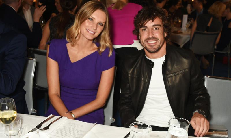 ¿Qué hace y con quién está Fernando Alonso de cena en Londres?