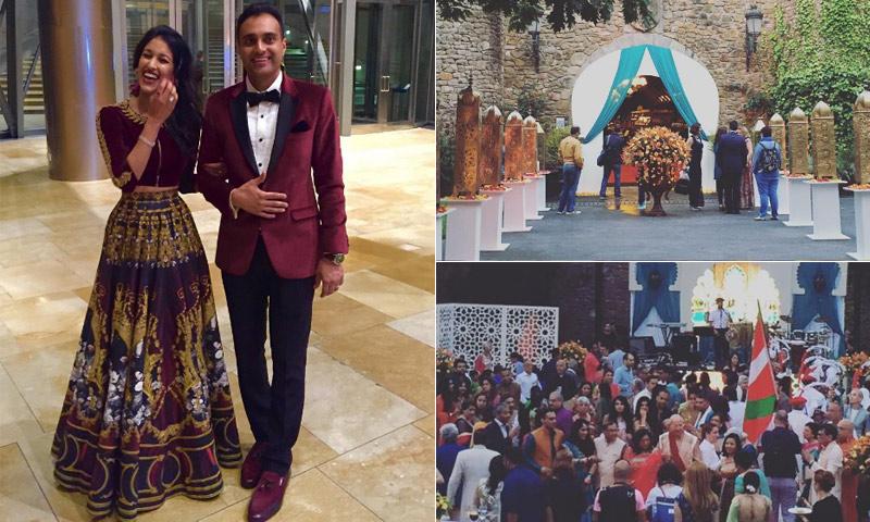 Cinco días, 450 invitados y un gran presupuesto, así está siendo la gran boda india en Bilbao