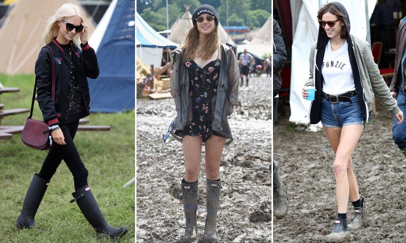 FOTOGALERÍA: Poppy Delevingne, Suki Waterhouse... las 'it girls' británicas se dan cita en Glastonbury