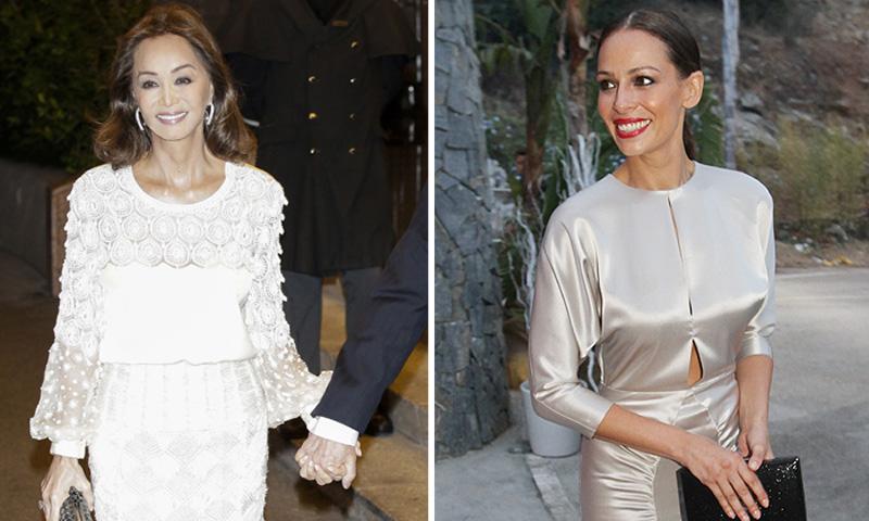 La noche en la que Isabel Preysler y Eva González conquistaron al príncipe Carlos