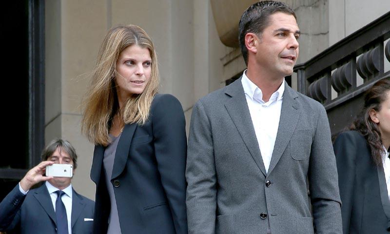 Athina Onassis y Doda Miranda se ven ante el juez para comenzar el proceso de divorcio