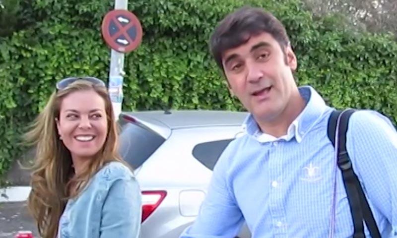 María José Campanario ya hace prácticas como dentista... con su familia