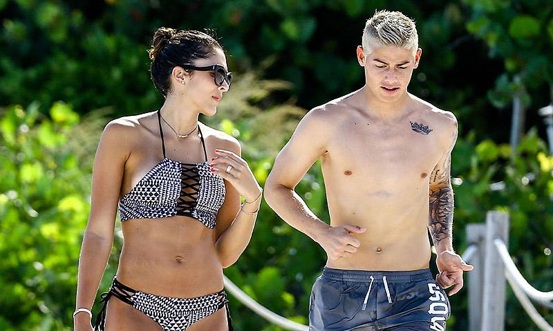 ¿Por qué todo el mundo habla de las vacaciones de James Rodríguez y Daniela Ospina?