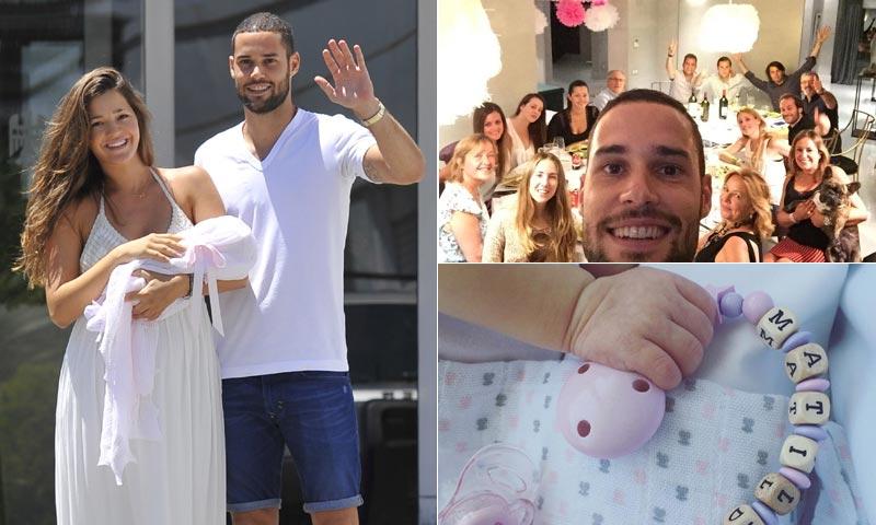 ¡Bienvenida, Matilda! Malena Costa y Mario Suárez celebran la llegada de su pequeña