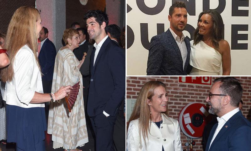 ¿Qué hacía la infanta Elena de fiesta con David Bisbal o Miguel Ángel Muñoz?