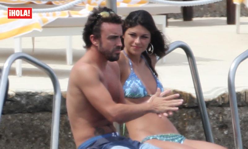 Fernando Alonso y Linda Morselli, ex de Valentino Rossi, ¡la pareja del verano!
