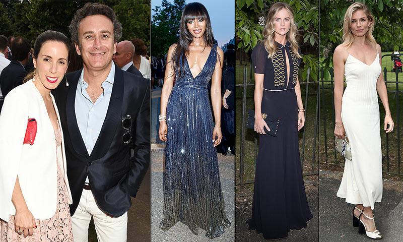 ¿Qué hacían Ana Aznar y Alejandro Agag de fiesta con Naomi Campbell, Cressida Bonas y Sienna Miller?