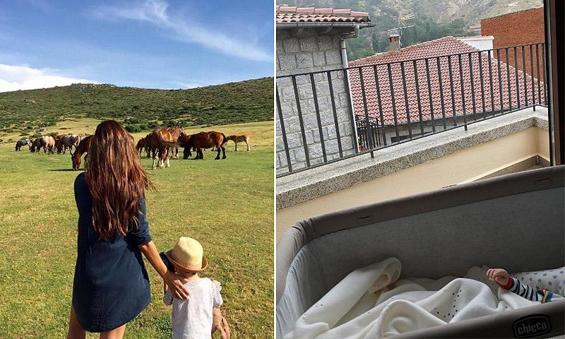 ¿A dónde se han ido Iker Casillas y Sara Carbonero con sus hijos?