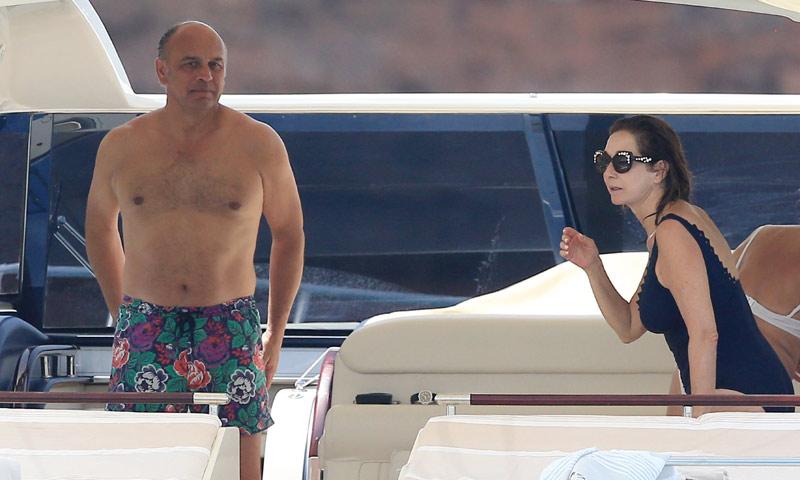 Ana Rosa Quintana disfruta de unos días de relax en Ibiza antes de la boda de su hijo