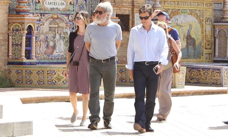 Madrid, Segovia, Toledo... y su última parada, Sevilla: 'un país en la mochila' de Harrison Ford