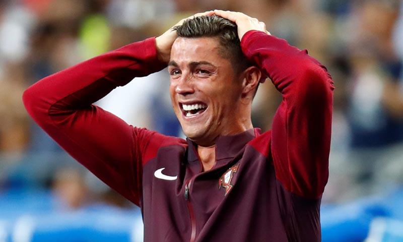 Las lágrimas de Cristiano Ronaldo, de la desesperación a la victoria