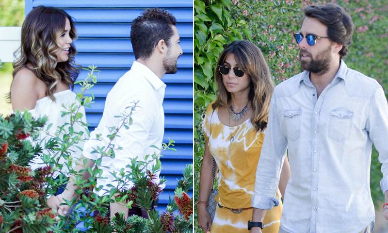 David Bisbal y Elena Tablada, juntos con sus respectivas parejas en un día muy especial