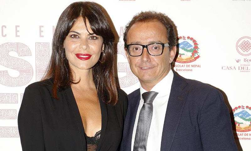 María José Suárez posa por primera vez con su novio, el financiero catalán Jordi Nieto