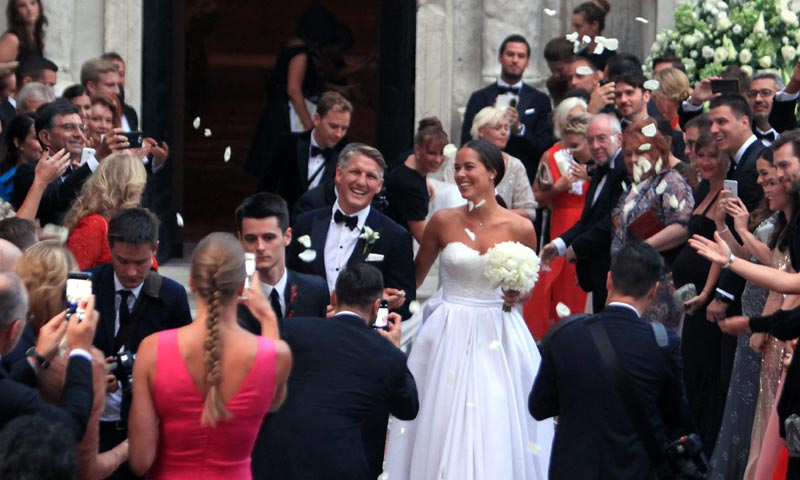 Dos días, dos bodas: el romántico enlace religioso de Ana Ivanovic y Bastian Schweinsteiger en Venecia